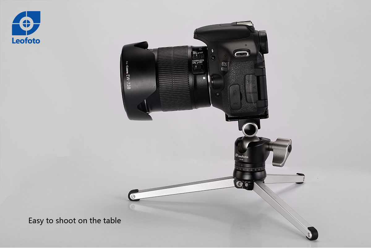 Rótula de bola LH-25+PU-25 para cámaras DSLR