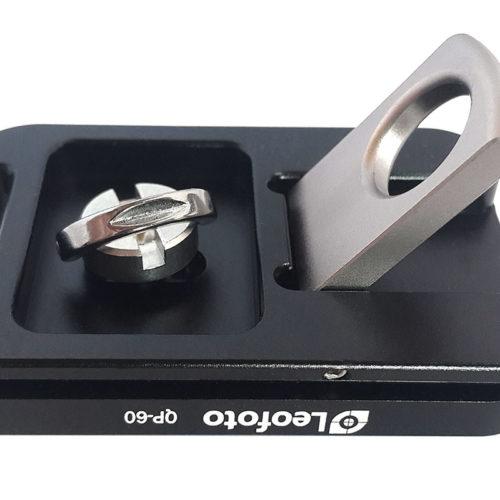 Plato rápido Leofoto QP-60 para correas de cámara