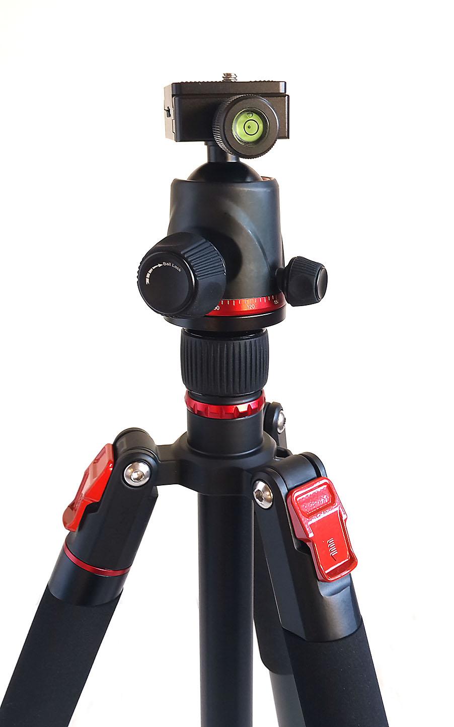 Kit trípode AL254B+BH-36
