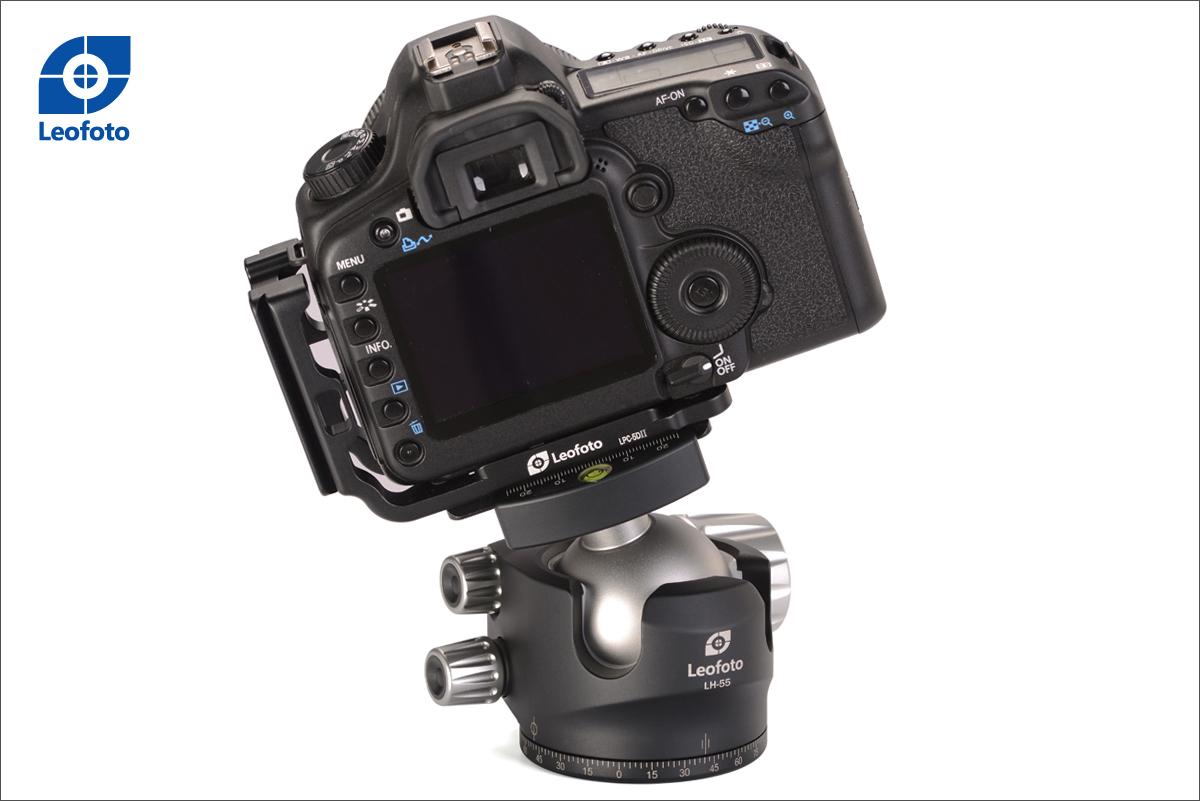Leofoto LH-55+QP-70 rótula de bola para cámaras