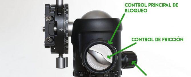 Control de fricción rótula Leofoto NB-34, NB-40, NB-46