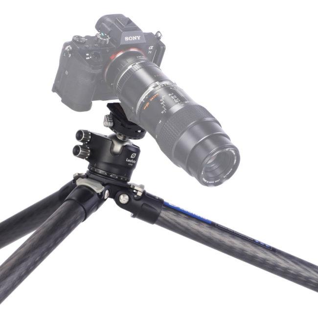 Tripode Leofoto LS-324C con rótula LH-40 soporta 20 Kg