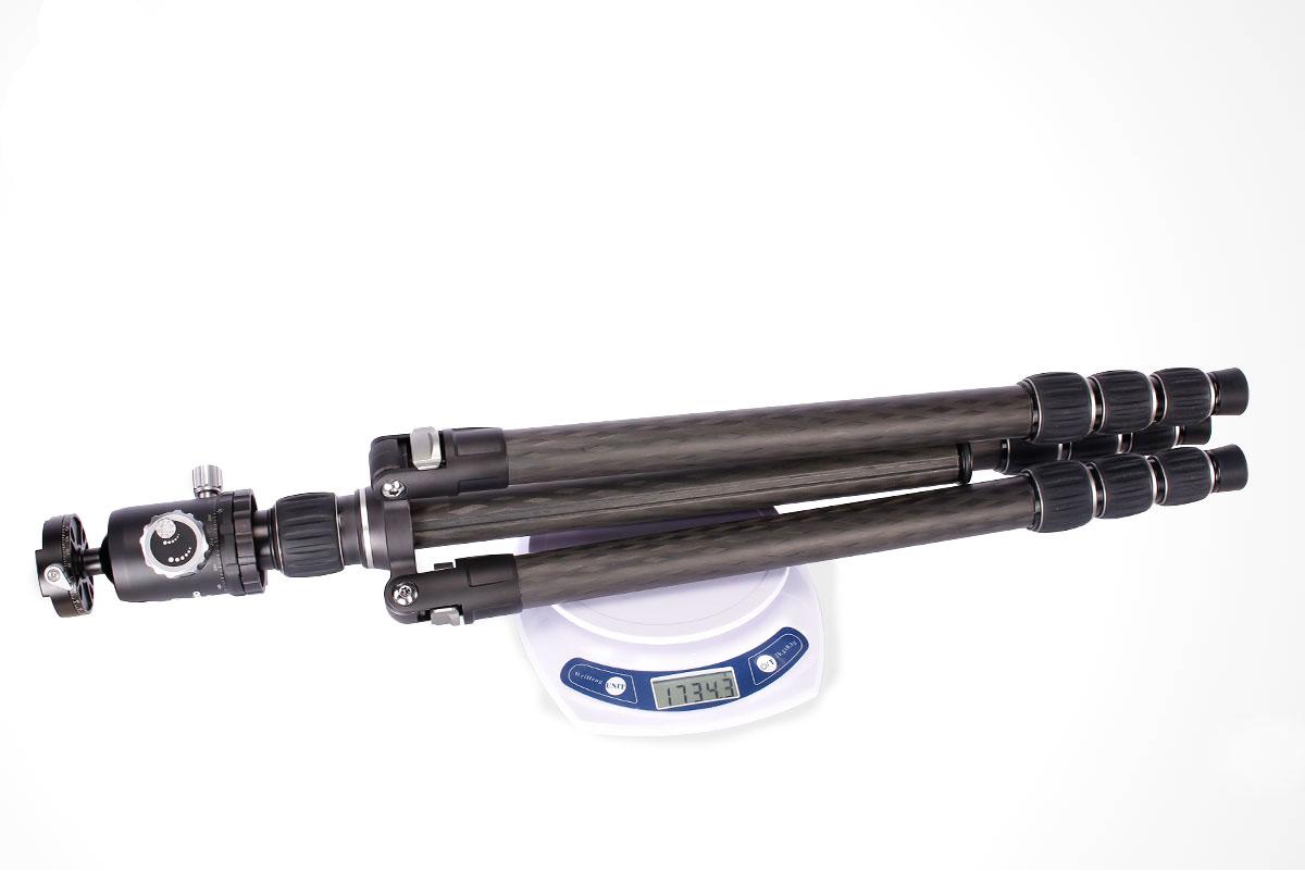 Kit trípode LE-284 y rótula CB-40 de Leofoto ligero y profesional