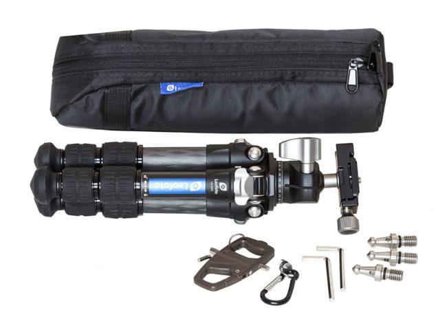Kit LS-223C y rótula LH-25 en carbono y accesorios