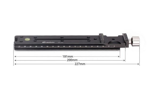 Plato rail nodal Leofoto NR-200
