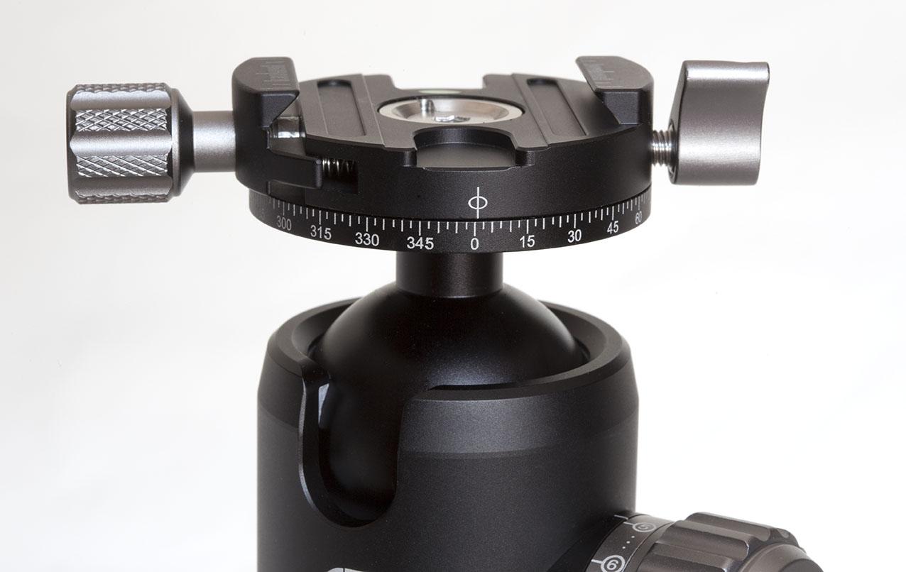 Rótula de bola CB-34 con rotador superior Leofoto