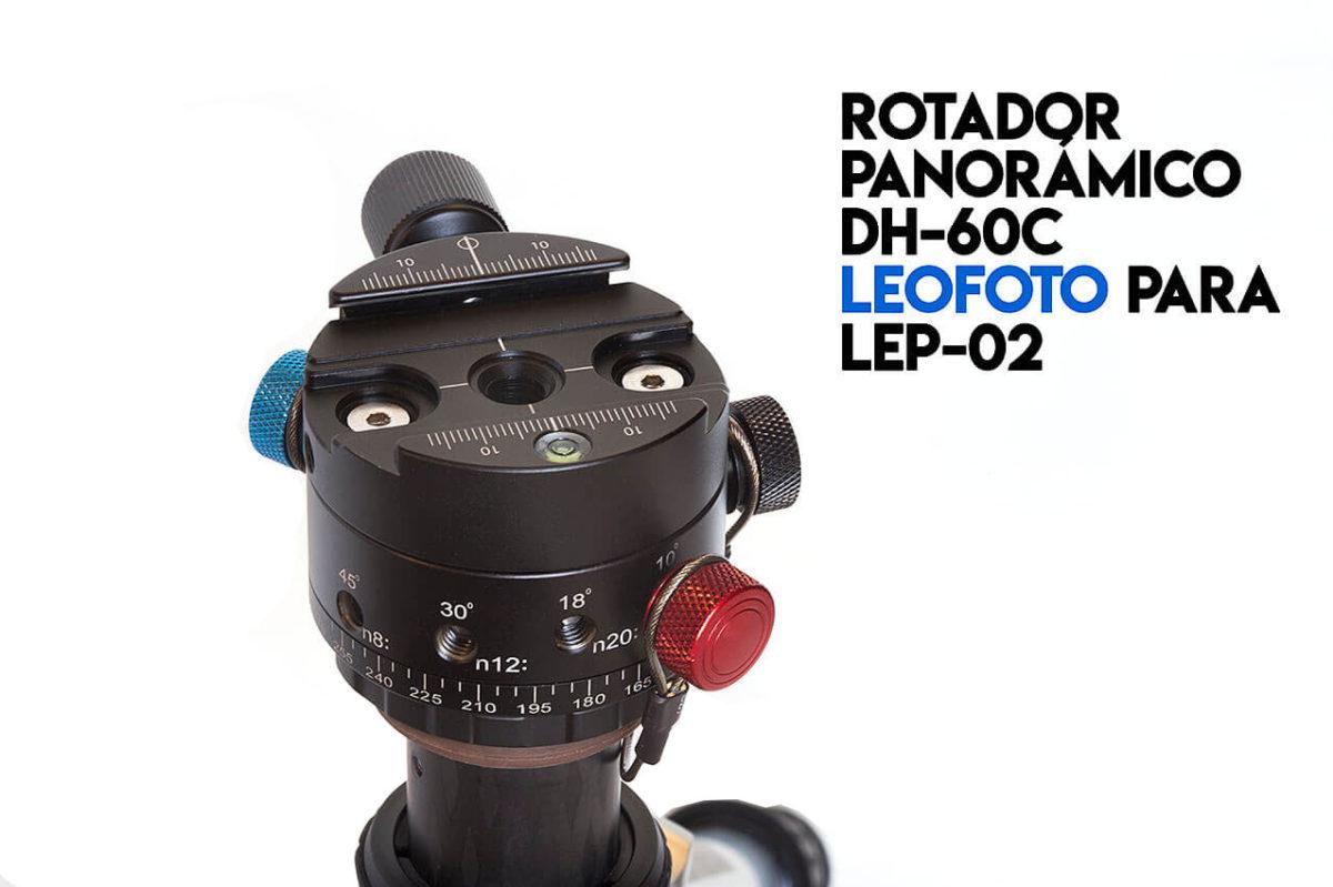 Rotador 360º Leofoto DH-60C