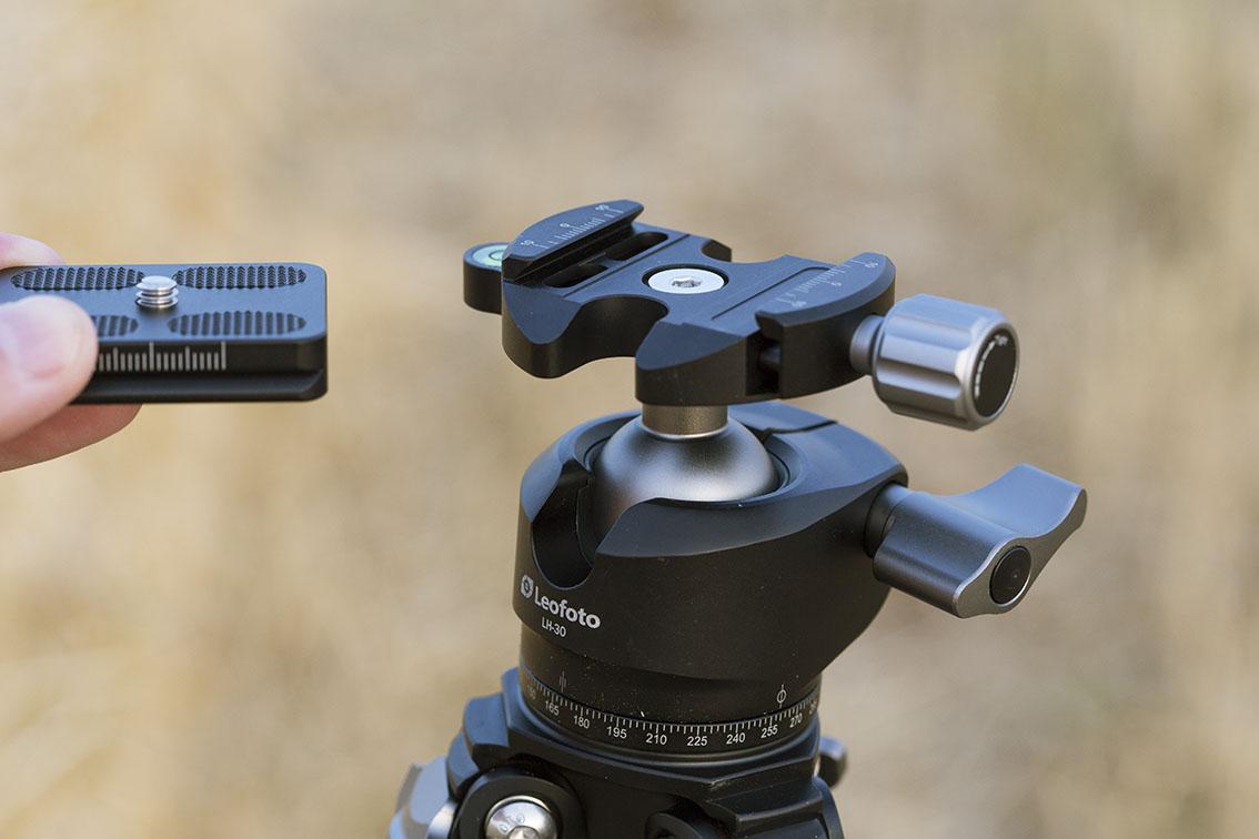 Review trípode Leofoto LS-254C y rótula LH-30 con zapata arca swiss