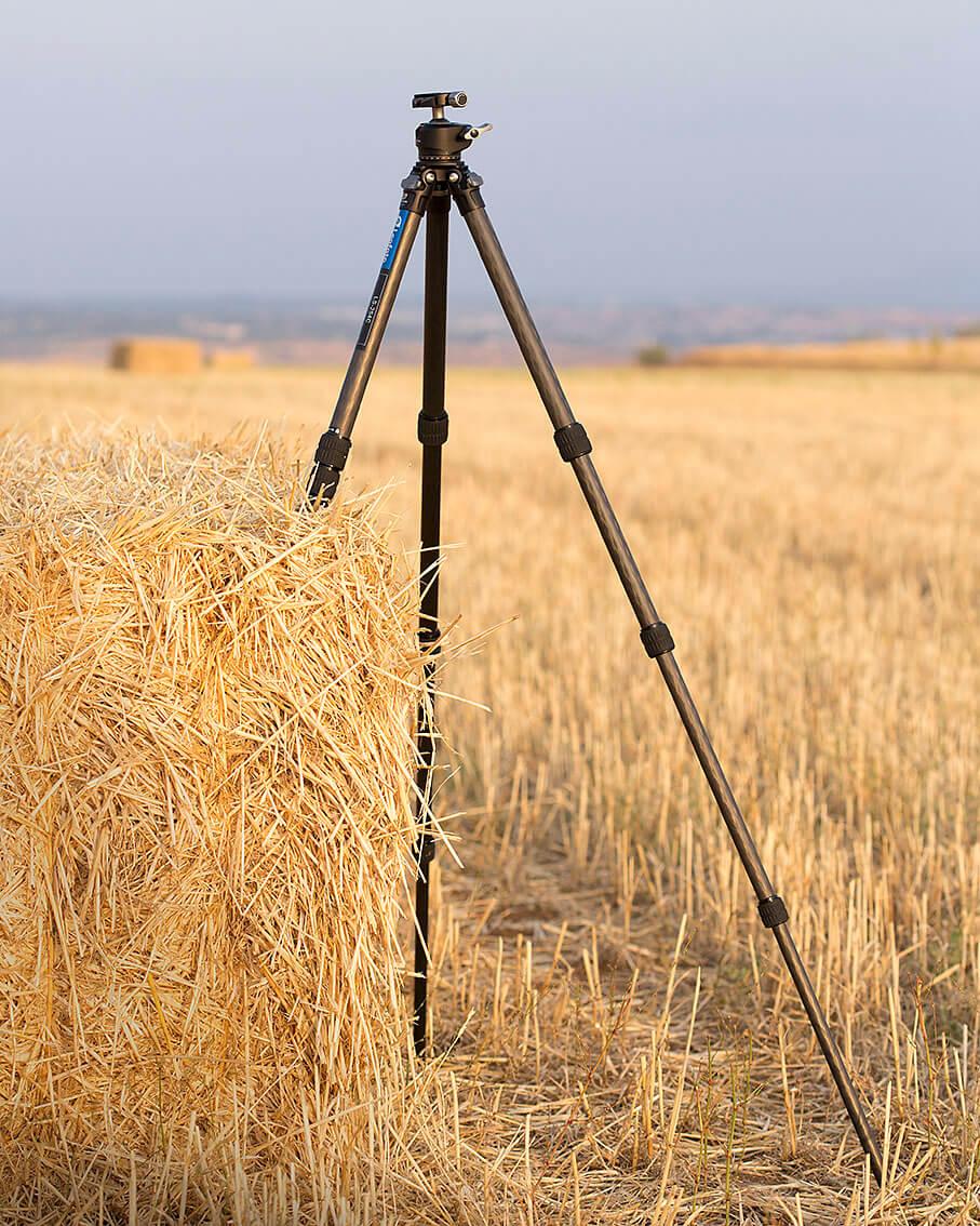 Review trípode Leofoto LS-254C y rótula LH-30 desplegado hasta 120cm
