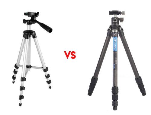 Diferencias entre un trípode barato y uno profesional