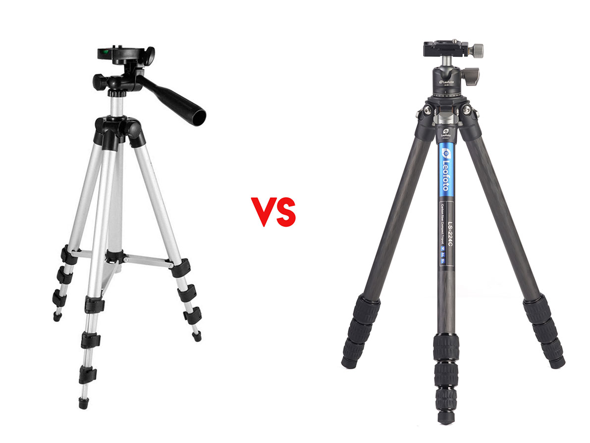 Diferencias entre un trípode barato y uno profesional Leofoto