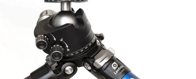Kit Leofoto LS-324C + LH-40PCL con rotadfor y palanca de bloqueo