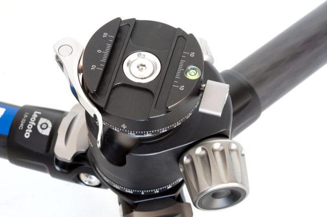 Kit Leofoto LS-324C + LH-40PCL en fibra de carbono
