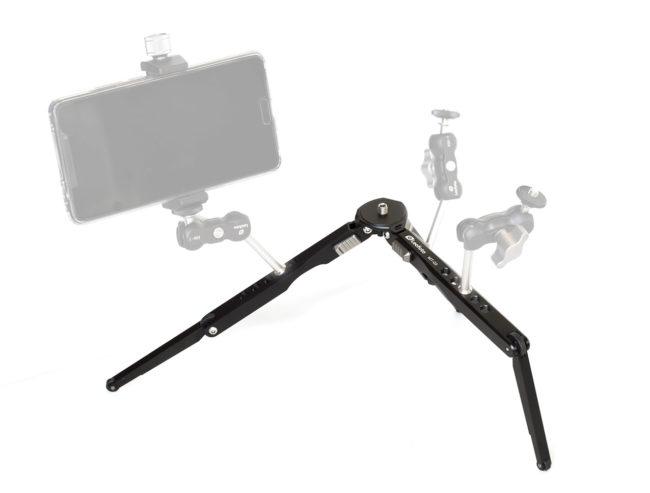 Mini trípode MT-03 en aluminio de Leofoto