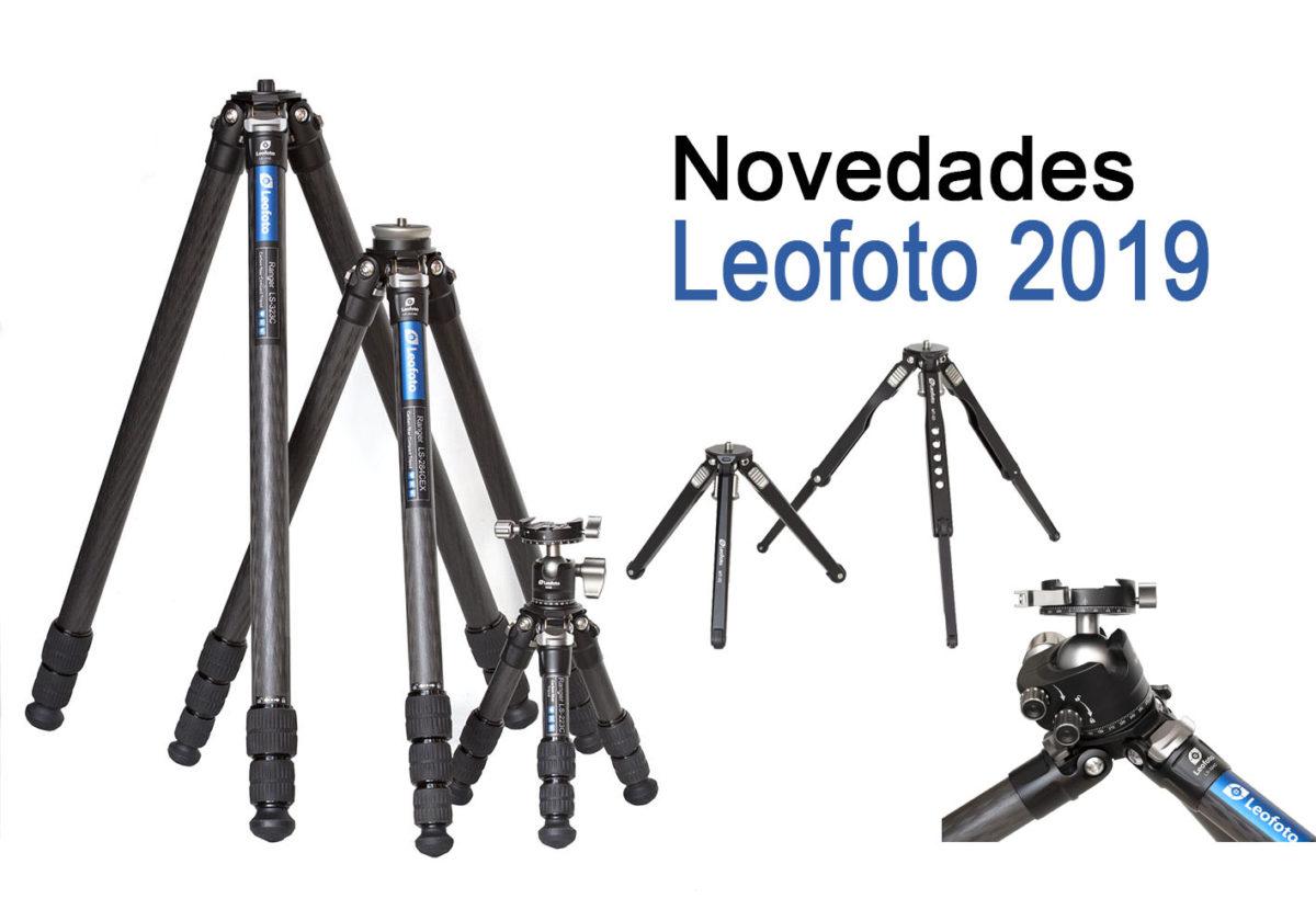 Novedades Leofoto 2019