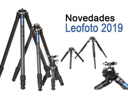 Primeras novedades Leofoto para el 2019