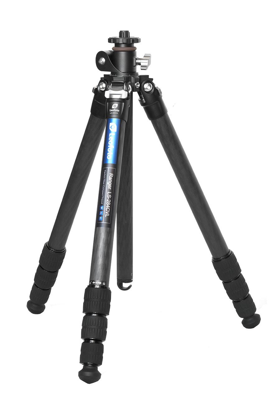 Leofoto LS-284CVL con columna desplazable