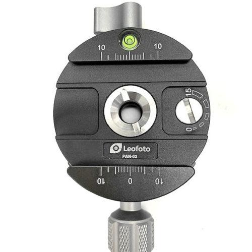Leofoto PAN-02 plato extraible compatible Arca Swiss