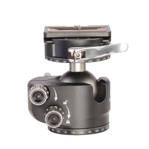 Leofoto LH-40PCL con rotador y palanca de bloqueo