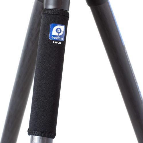 Leofoto LW-28 calentador para trípodes con patas de 28mm