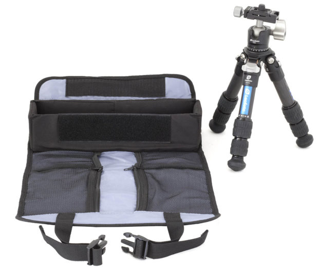 Leofoto AC-1 bolsa de transporte pequeña para tripodes y flashes