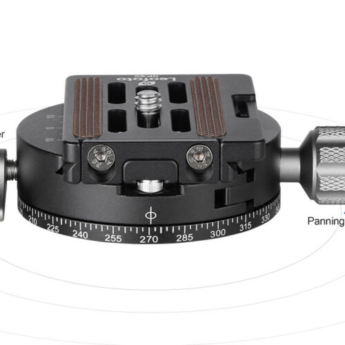 Leofoto rotador RH-1L con plato NP-50