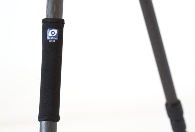 Leofoto LW-25 calentador de 25mm para trípode