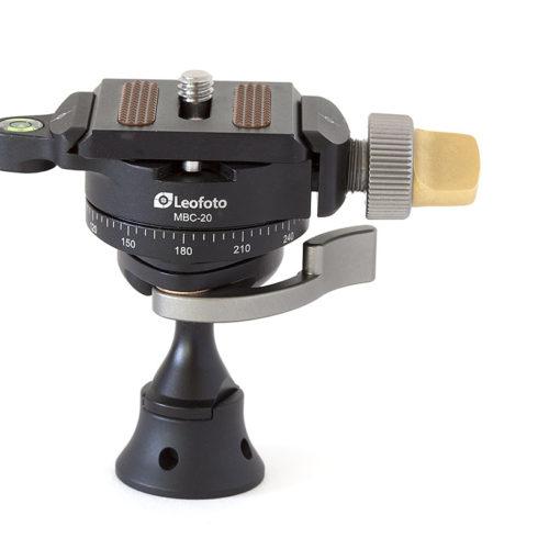 Leofoto MBC-20 con rotador independiente