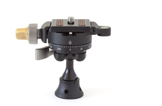 Leofoto MBC-20 mini rotula con rotador independiente
