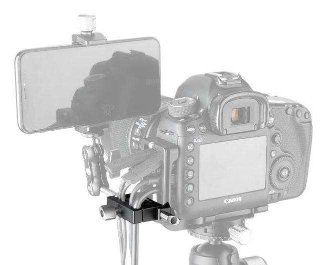 Leofoto DA-1 zapata Arca en aluminio y CNC para sujecion de cables