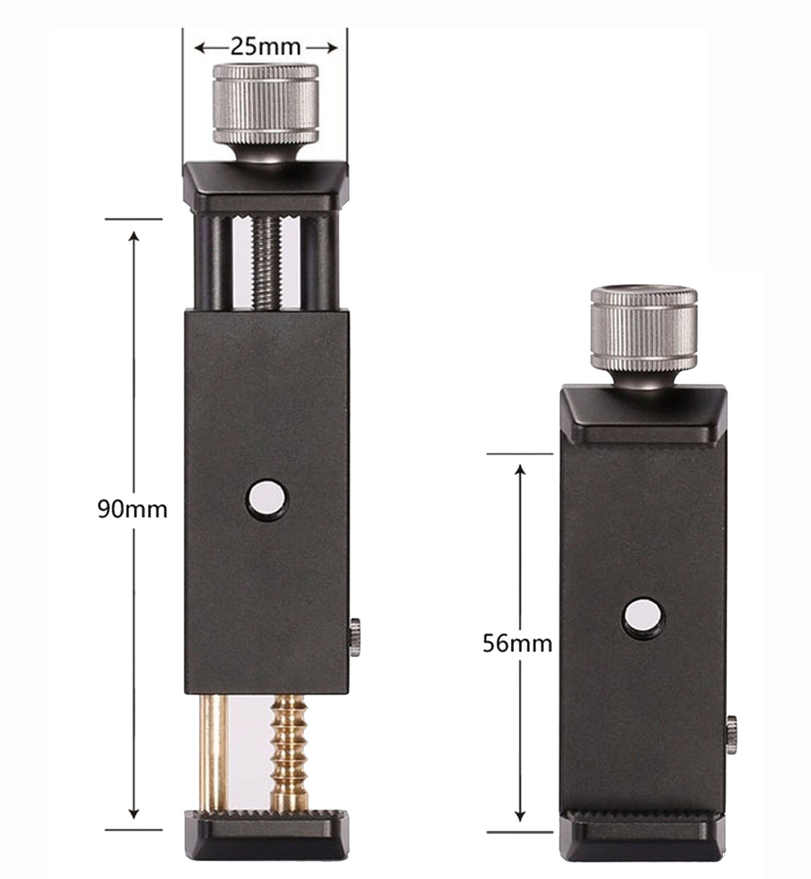 Leofoto PC-90 pinza universal para smartphones