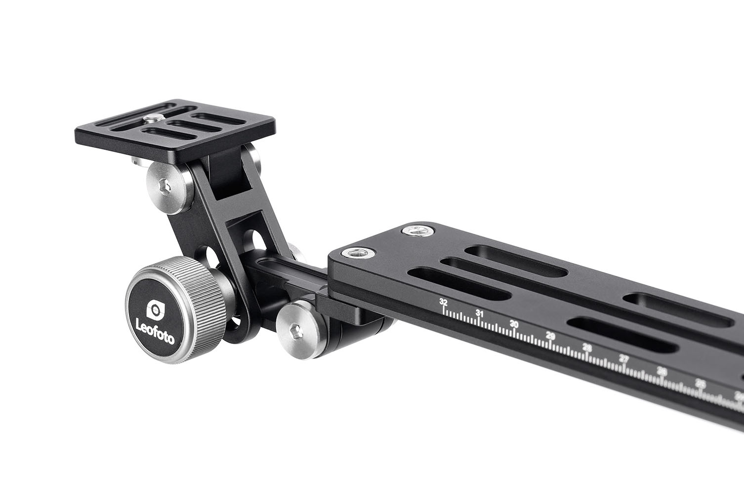Leofoto VR-250 regleta cámara y teleobjetivos