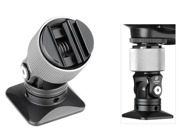 Leofoto FA-09 rótula para flashes de mano con un peso de 83 gramos