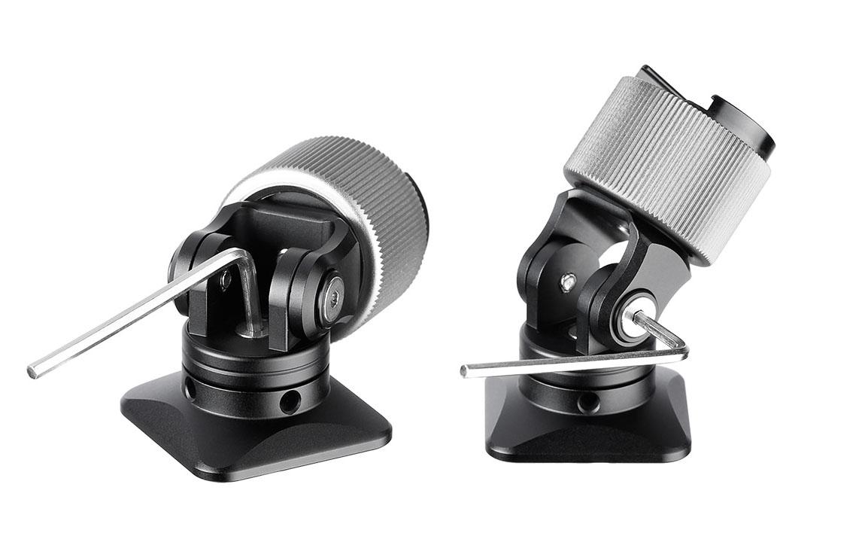 Leofoto FA-09 rótula para flashes de presión con ajuste preciso