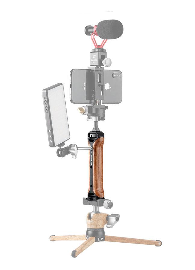Leofoto CH-2 empuñadura para smartphone y grabación de videos