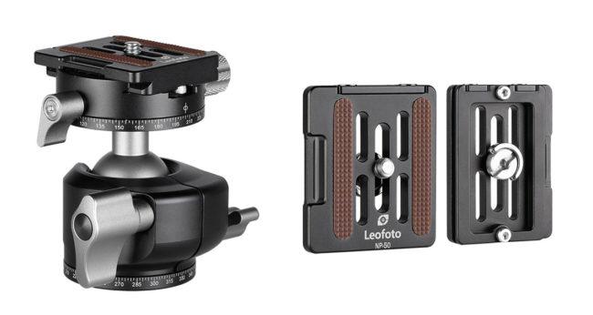 Leofoto LH-30R+NP-50 rótula de bola y plato arca Swiss incluido