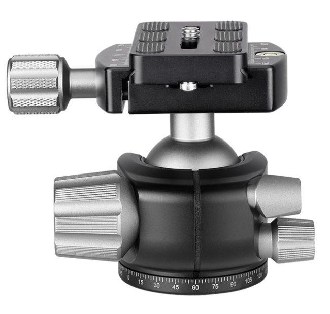 Leofoto LH-36+QP-70 Rótula de bola compatible con Arca Swiss