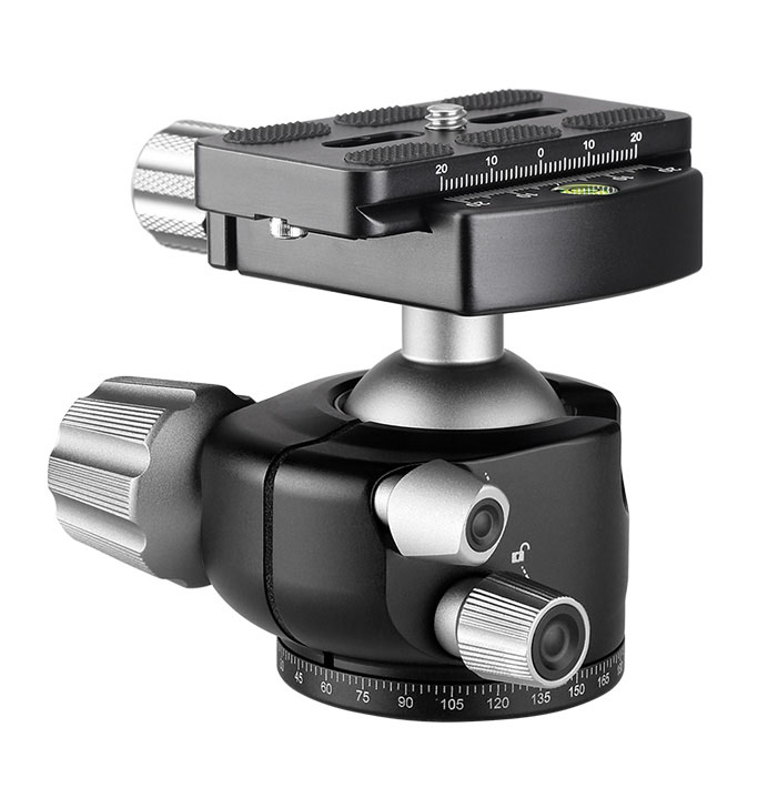 Leofoto LH-36+QP-70 rótula para trípodes profesionales