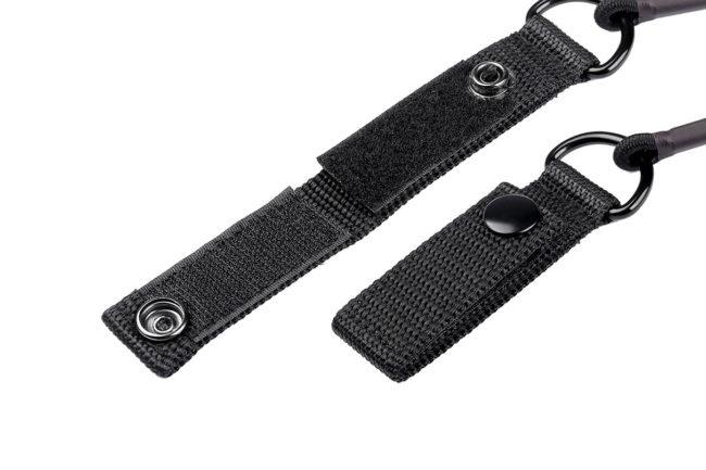 Leofoto LT-S1 cable de seguridad para trípode con correa de bloqueo y corchete
