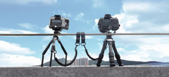 Leofoto LT-S1 cable de seguridad para trípodes en nylon