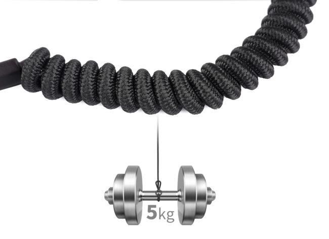 Leofoto LT-S1 cable de seguridad soporta 5kg
