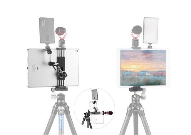 Leofoto PC-190 pinza para telefonos movil y tablets e iPad