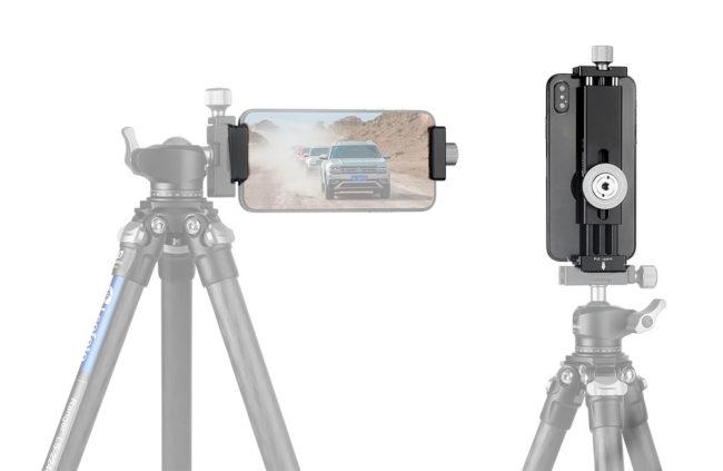 Leofoto PC-190 pinza soporte para teléfonos moviles smartphone