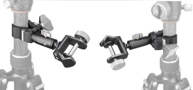 Leofoto UC-01 - Brazo de sujeción y soporte en aluminio aeronáutico