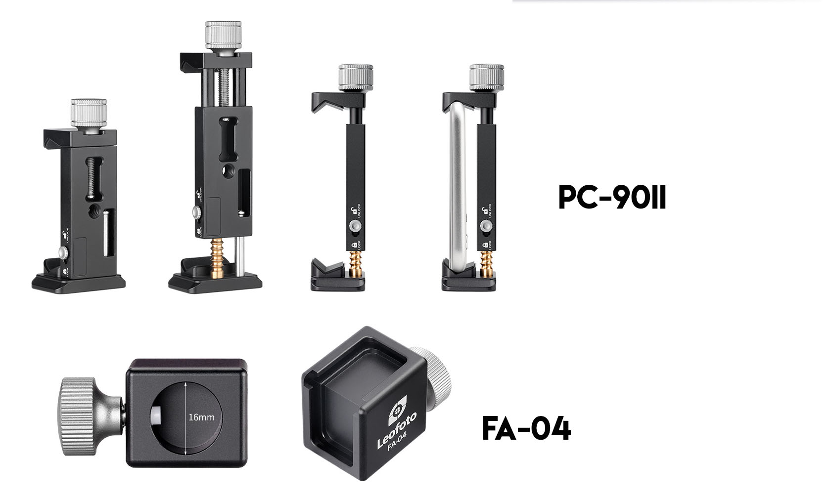 Leofoto VC-2 doble empuñadura para grabacion y accesorios