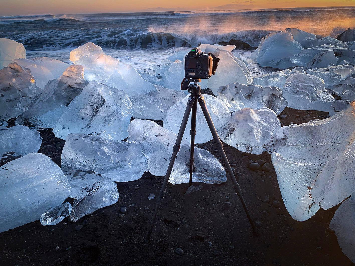 Entrevista al fotógrafo Miguel Angel Morenatti probando Leofoto