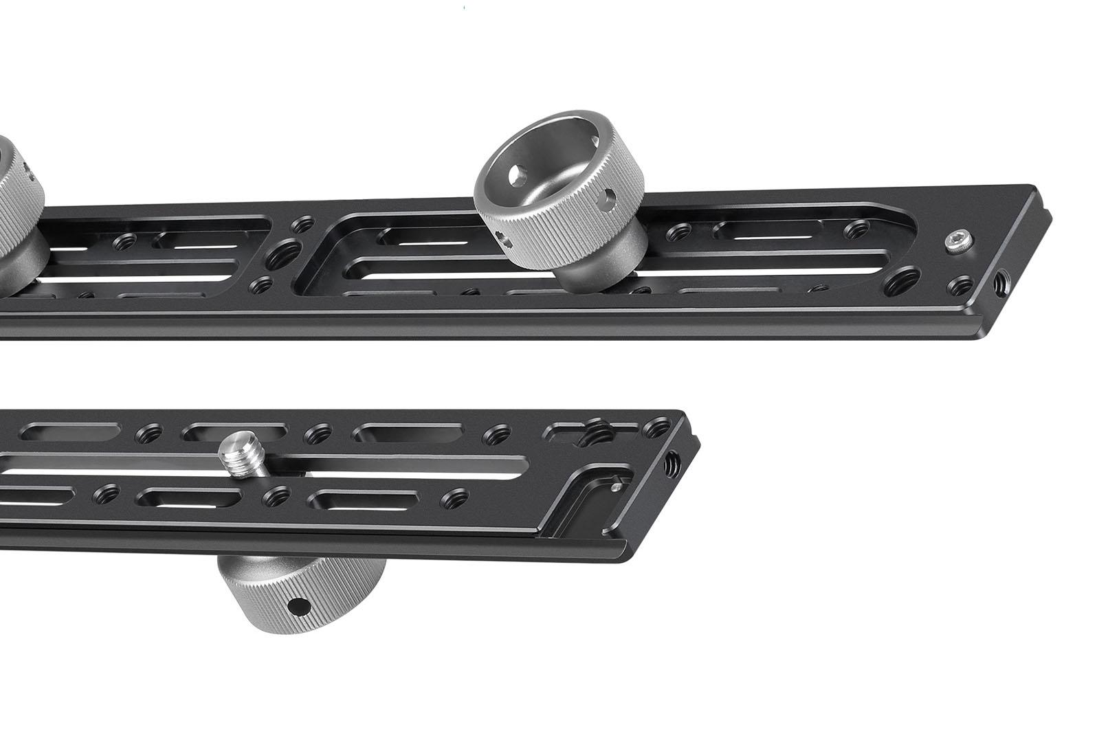 Leofoto NP-400 regleta en aluminio 7075 para accesorios