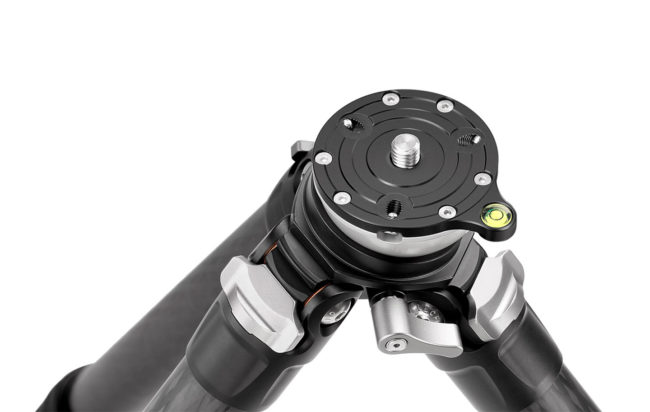 Leofoto LS-223CEX minitrípode con nivelador soporta 5 Kg