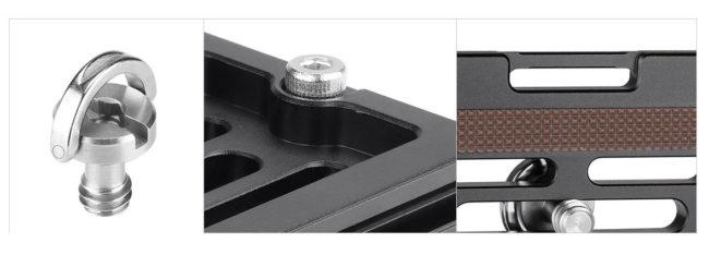 Plato rápido Leofoto NP-60 con detalles y compatible Arca Swiss
