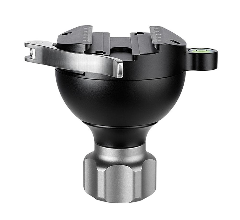 Leofoto YB-75SC semiesfera 75mm Arca Swiss en aluminio